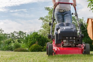 mowing and landscaping